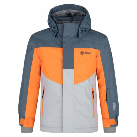 KILPI Chlapecká lyžařská bunda OBER-JB NJ0002KIBLU Modrá