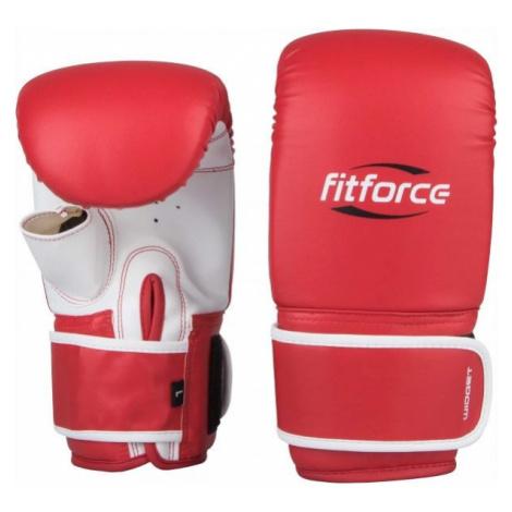 Fitforce WIDGET červená - Boxerské rukavice