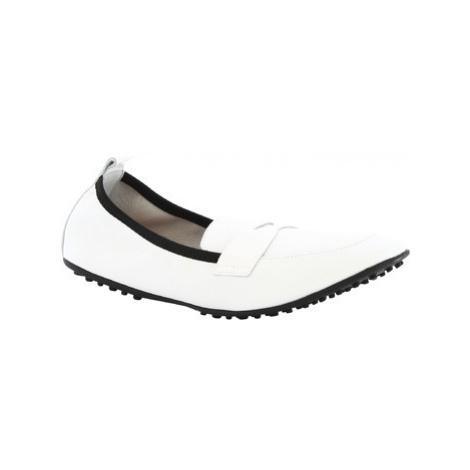 Leonardo Shoes 384-13/1102 NAPPA BIANCO Bílá