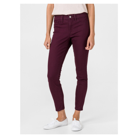 Jeans GAP Fialová