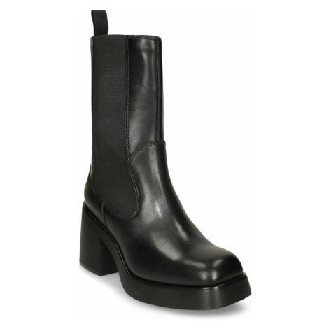 Černá dámská kožená Chelsea kotníková obuv Vagabond
