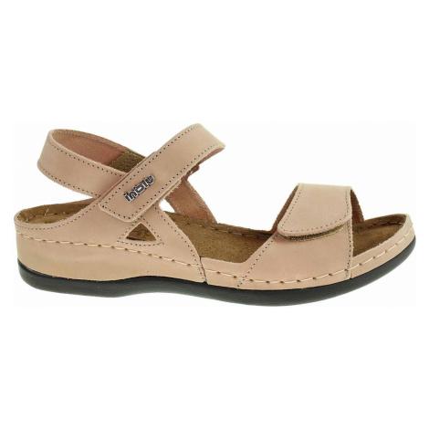 Inblu Dámské sandály 158D102 béžová Béžová