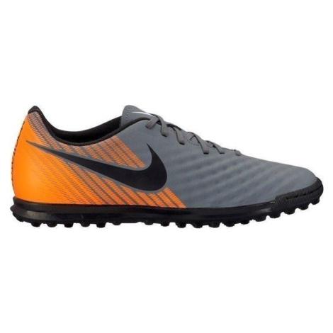 Kopačky Nike OBRAX 2 CLUB TF Šedá / Oranžová