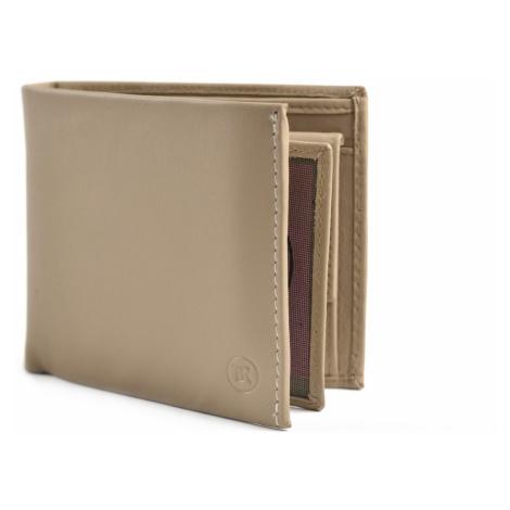 BRIGHT Pánská kožená peněženka na šířku Béžová, 12 x 2 x 10 (KP00-P14776-18KUZ)