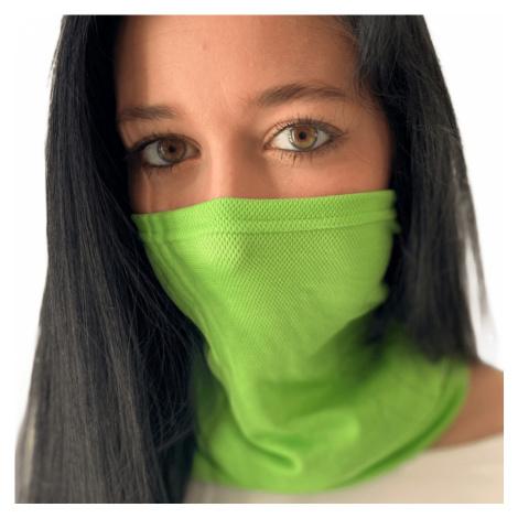 NanoBodix® AG-TIVE multifunkční šátek - unisex Černá Unisex