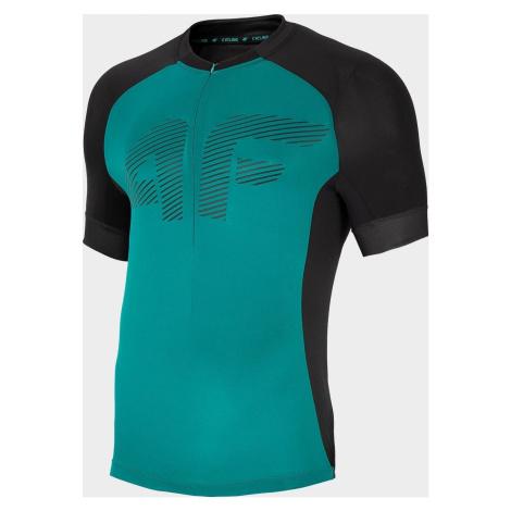 Pánské cyklistické tričko 4F RKM450 Zelené