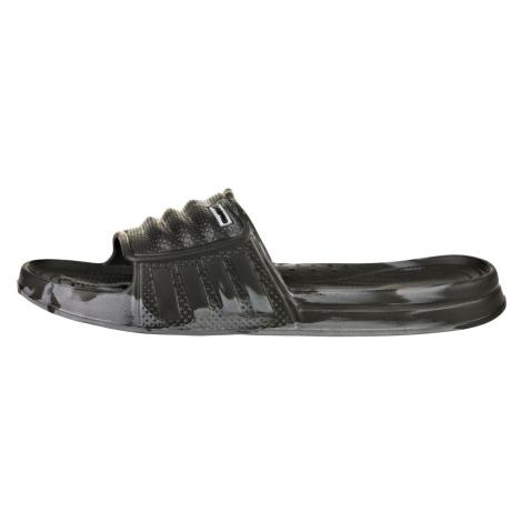 ALPINE PRO KALMANE Unisex pantofle UBTR213990 černá