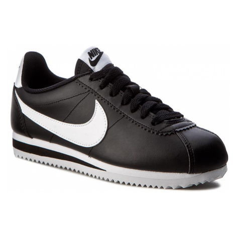 Boty NIKE - Classic Cortez Leather 807471 010 Black/White/White