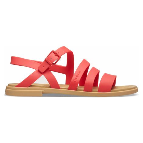 Crocs Crocs Tulum Sandal W Flame W9