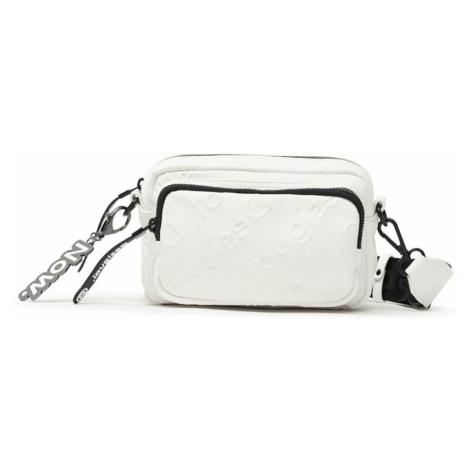 Desigual bílá crossbody kabelka Bols Colorama Petra