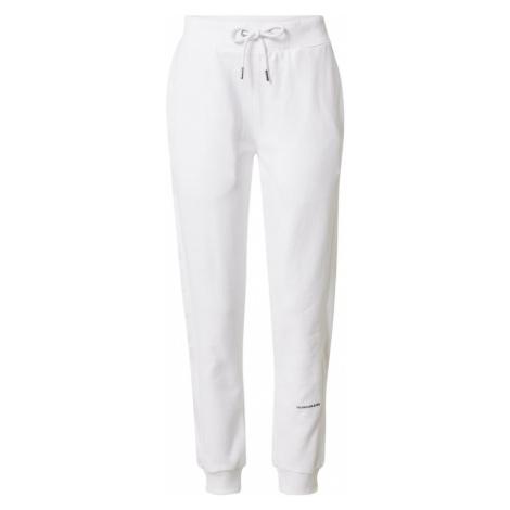 Calvin Klein Jeans Kalhoty bílá
