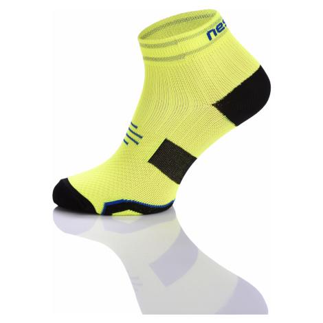 Nessi Běžecké ponožky PRO maraton RMO-2 - Žlutá