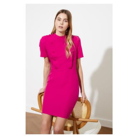 Trendyol Fushya Button Detailed Dress