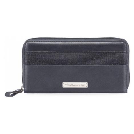 Dámská peněženka Tamaris Khema Big Zip - tmavě modrá