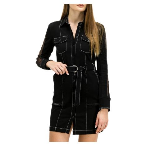 Černé džínové šaty - PATRIZIA PEPE