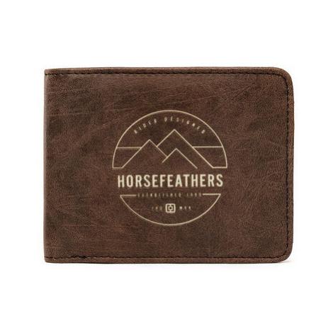Peněženka Horsefeathers Cain brown