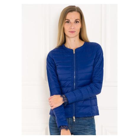 Twinset dámská jarní bunda tmavě modrá