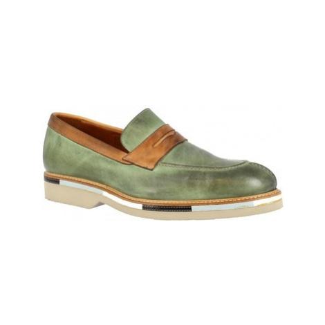 Leonardo Shoes 07779/FORMA 40 GOLF GREEN Zelená