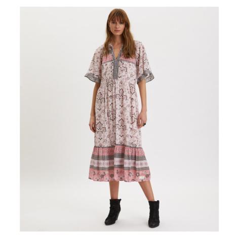Šaty Odd Molly Bohemic Dress - Růžová