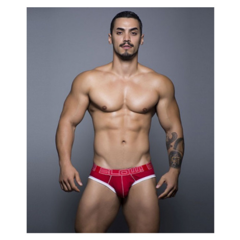ANDREW CHRISTIAN slipy červené BLOW Tagless Brief 90119