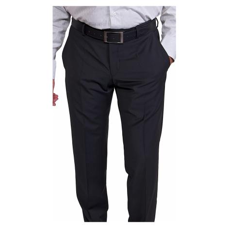 Klasické černé kalhoty Alain Delon