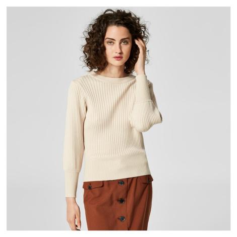 Béžový svetr Pinna Selected