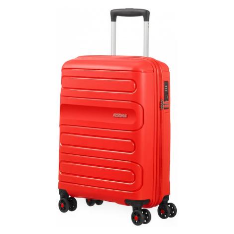 American Tourister Kabinový cestovní kufr Sunside 51G 35 l - světle červená