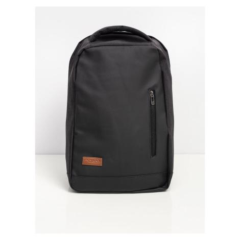 Černý batoh na notebook ONE SIZE