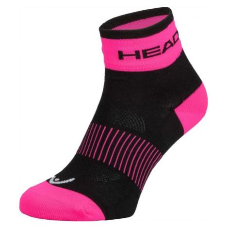 Head SOCKS YELLOW růžová 40/42 - Cyklistické ponožky