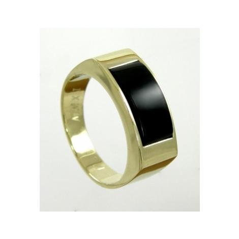 Zlatý pánský prsten 004 + DÁREK ZDARMA