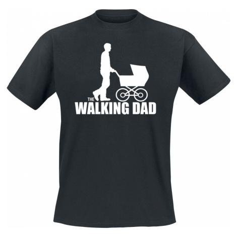 The Walking Dad tricko černá