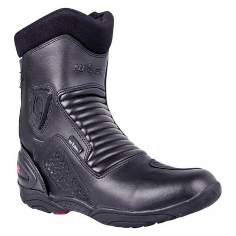 Kožené moto boty W-TEC Benkoff NF-6052 Barva černá