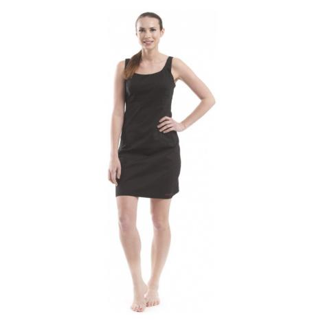 Dámské šaty Alpine Pro ALFONSO - černá