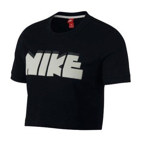Dámské tričko Nike Sportswear Archive Černá / Bílá