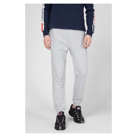 Tommy Jeans pánské světle šedé tepláky Tommy Hilfiger