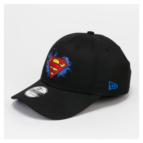New Era 940K Character Splat Superman černá / modrá CHILD (52 - 54 cm)