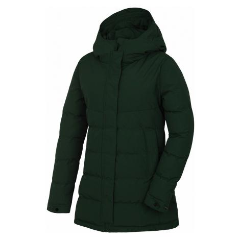Husky Nilit L, tm. zelená Dámský hardshell plněný kabátek