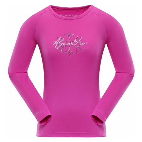 Dámské triko Alpine Pro VALDO 5 - růžová