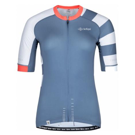 Dámský cyklistický dres KILPI WILD-W modrá