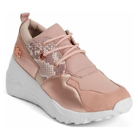 Růžové tenisky - GUESS