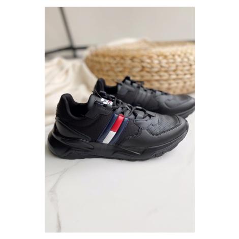Tommy Hilfiger Tommy Jeans chunky tenisky pánské - černé
