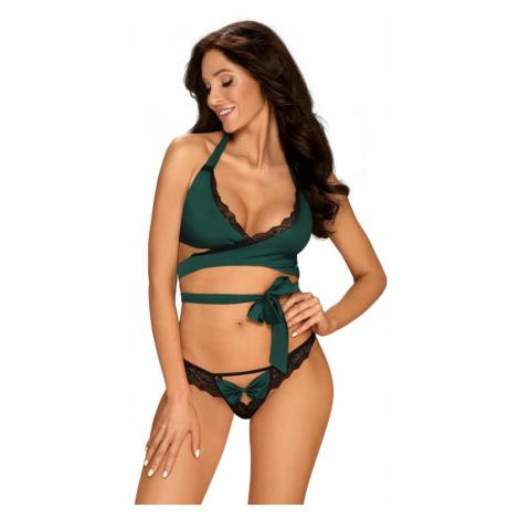Sexy set Sensuelia set green - Obsessive Zelená