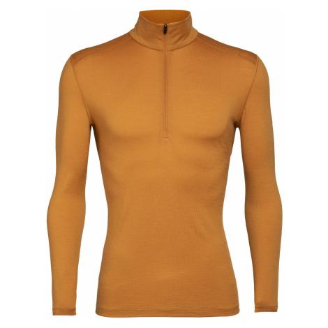 Pánské triko ICEBREAKER Mens 200 Oasis LS Half Zip, CAVERN Icebreaker Merino
