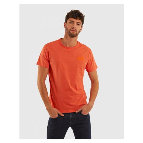 Tričko La Martina Man Cotton Jersey T-Shirt - Oranžová