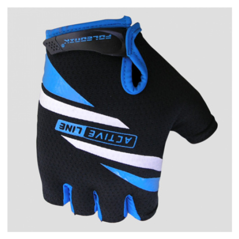 POLEDNIK Active cyklistické rukavice Barva: modrá