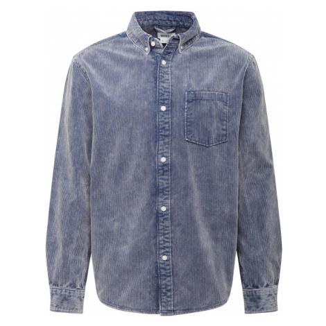 WEEKDAY Košile 'Malcon' chladná modrá