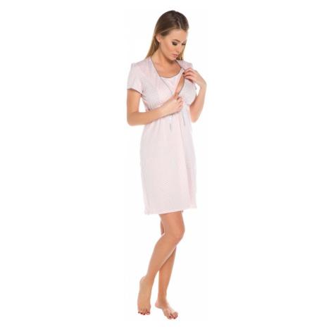 Dámská kojící košile Felicita apricot Italian Fashion
