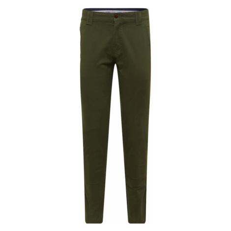 Tommy Jeans Chino kalhoty olivová Tommy Hilfiger