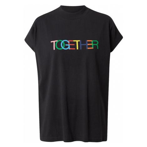 Thinking MU Tričko 'TOGETHER' černá / mix barev