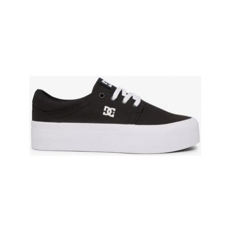 DC Shoes ZAPATILLAS MUJER CON PLATAFORMA PLANA ADJS300269 Černá